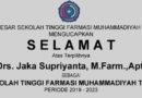 Ketua STFM Periode 2019-2023