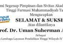 Selamat dan Sukses atas dilantiknya Prof. Dr. Uman Suherman AS., M.Pd.